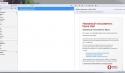 Интерфейс программы Opera Mail
